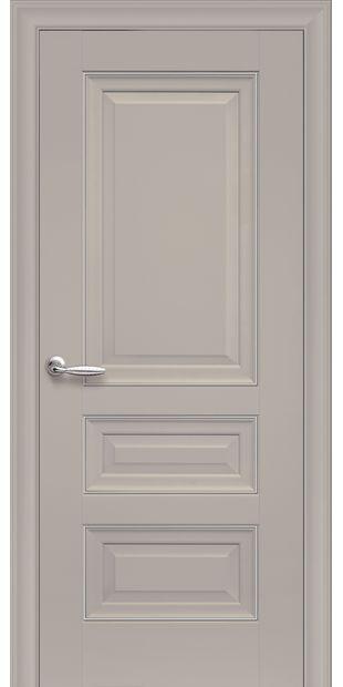Межкомнатные двери Статус Глухое с молдингом status-5