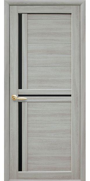 Межкомнатные двери Тринити с черным стеклом triniti-10
