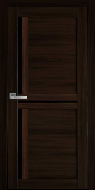 Межкомнатные двери Тринити с черным стеклом triniti-20