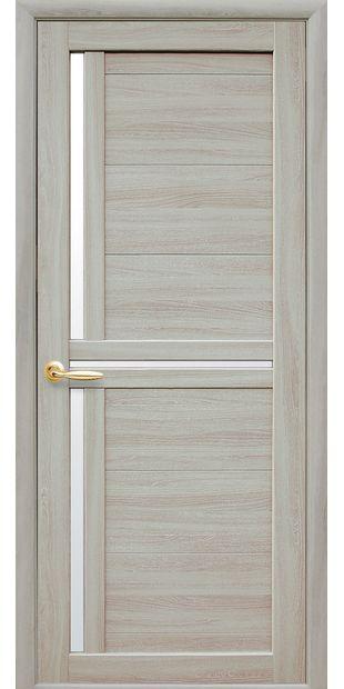 Межкомнатные двери Тринити со стеклом сатин ttiniti