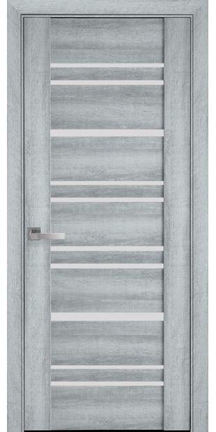 Межкомнатные двери Валенсия со стеклом сатин valensyia3