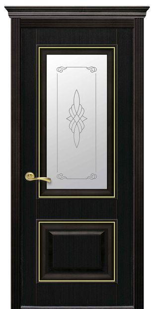 Межкомнатные двери Вилла Премиум со стеклом сатин и рисунком villa-premium-3