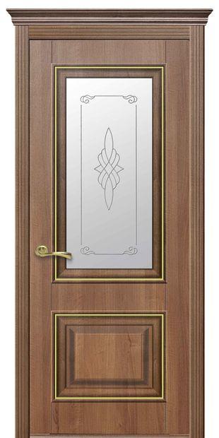 Межкомнатные двери Вилла Премиум со стеклом сатин и рисунком villa-premium-5