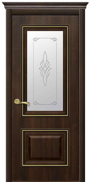 Межкомнатные двери Вилла Премиум со стеклом сатин и рисунком villa-premium-7