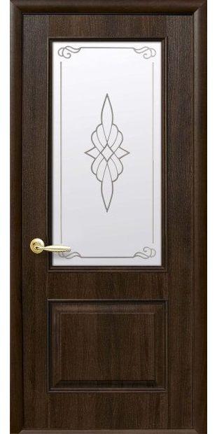 Межкомнатные двери Вилла Премиум со стеклом сатин и рисунком villa-premium-9