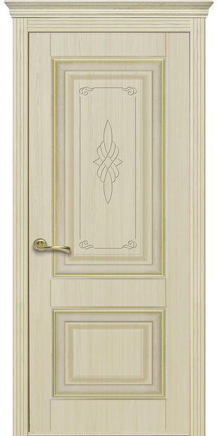 Межкомнатные двери Вилла Премиум глухое с гравировкой villa-premium