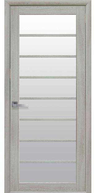 Межкомнатные двери Виола со стеклом сатин viola