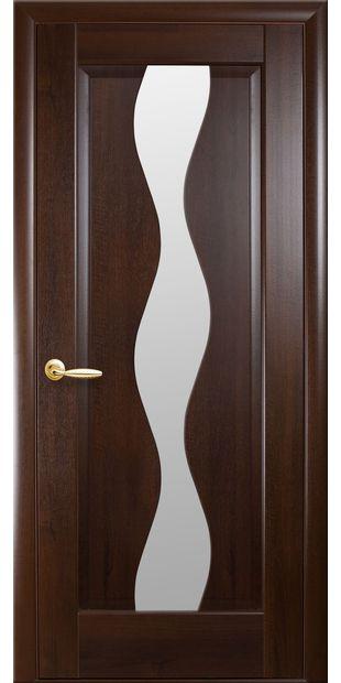 Межкомнатные двери Волна со стеклом сатин volna-53