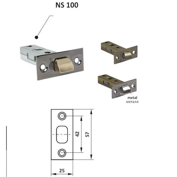 Защелка NS 100 прямоугольная zaselka-ns-100-pramougolnaa-1