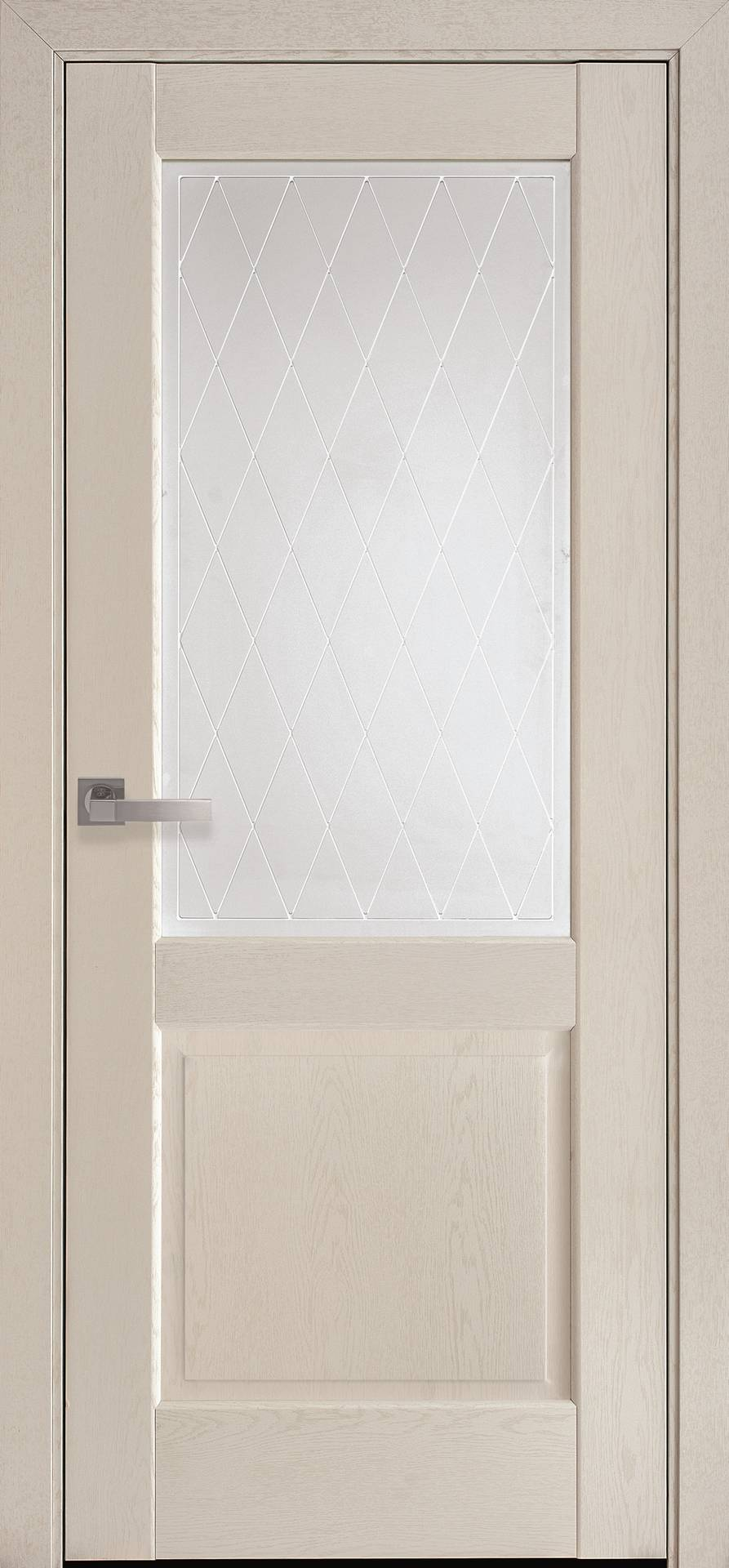 Межкомнатные двери Эпика со стеклом сатин и рисунком Р2
