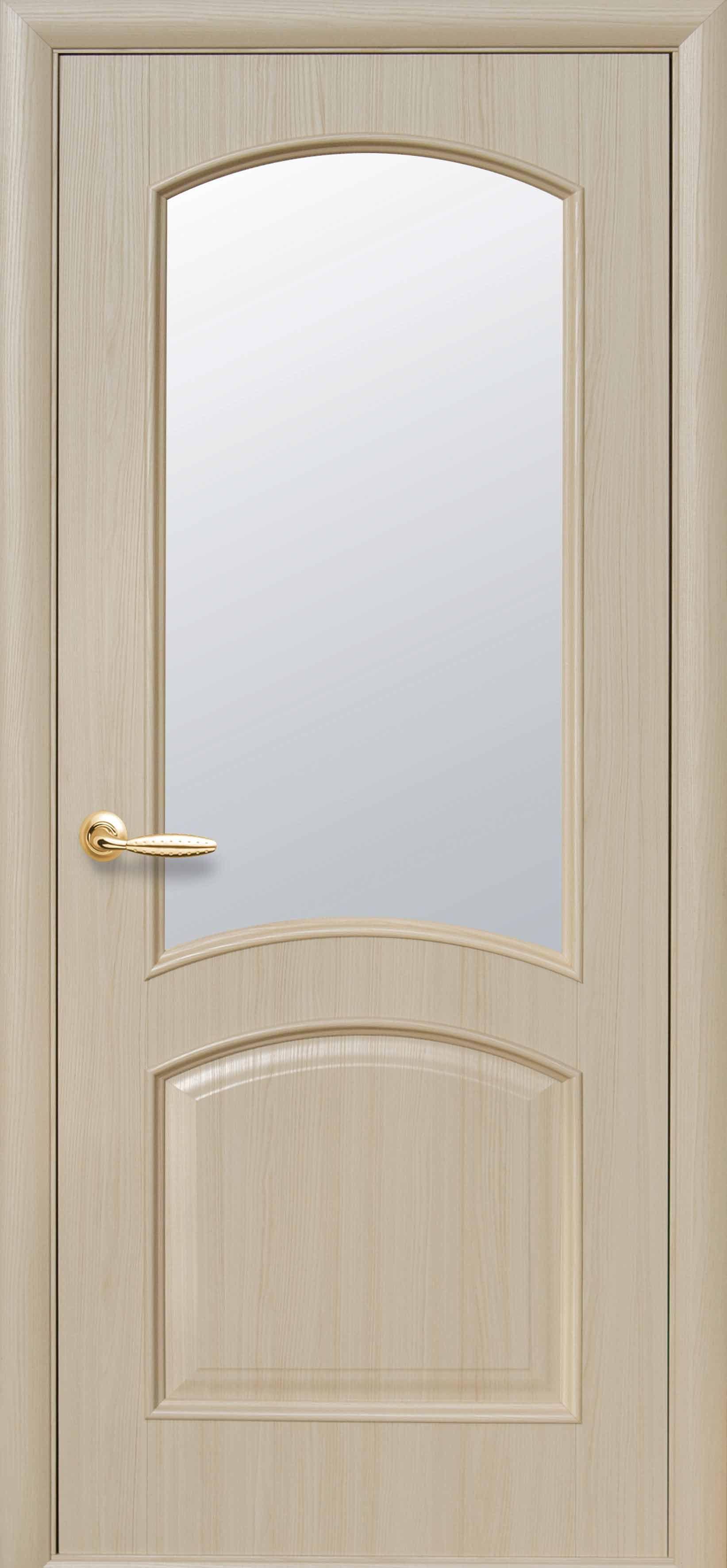 Межкомнатные двери Антре со стеклом сатин