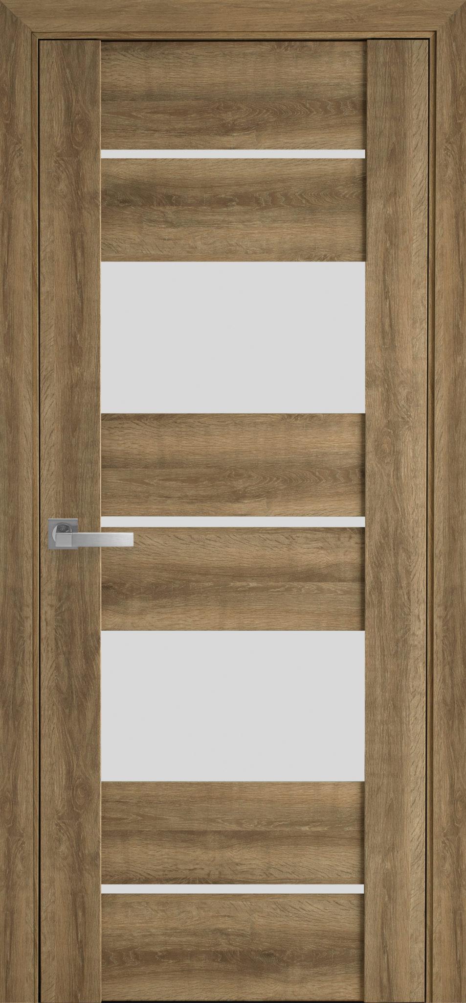 Межкомнатные двери Аскона со стеклом сатин