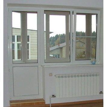 Балконный блок Veka 2040x2160 мм