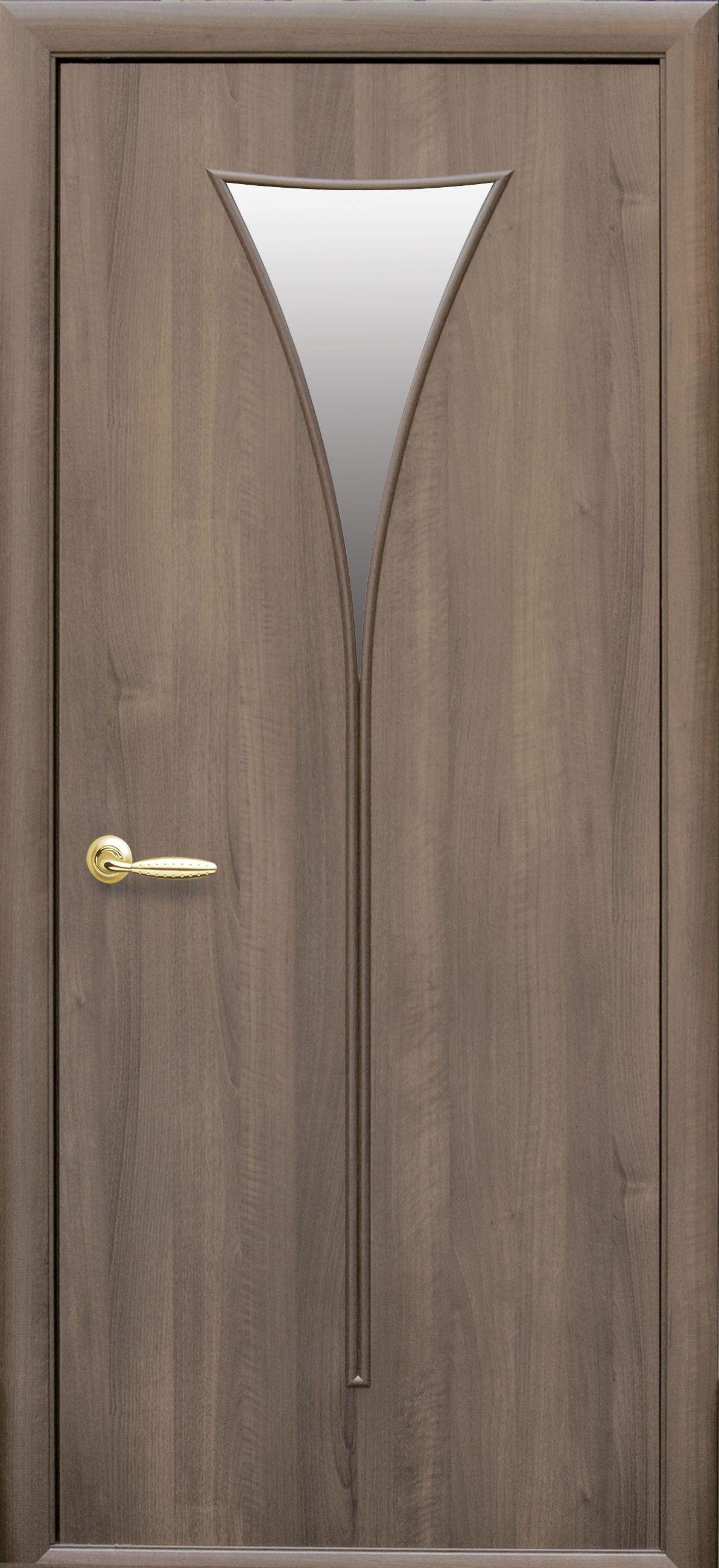 Межкомнатные двери Бора со стеклом сатин