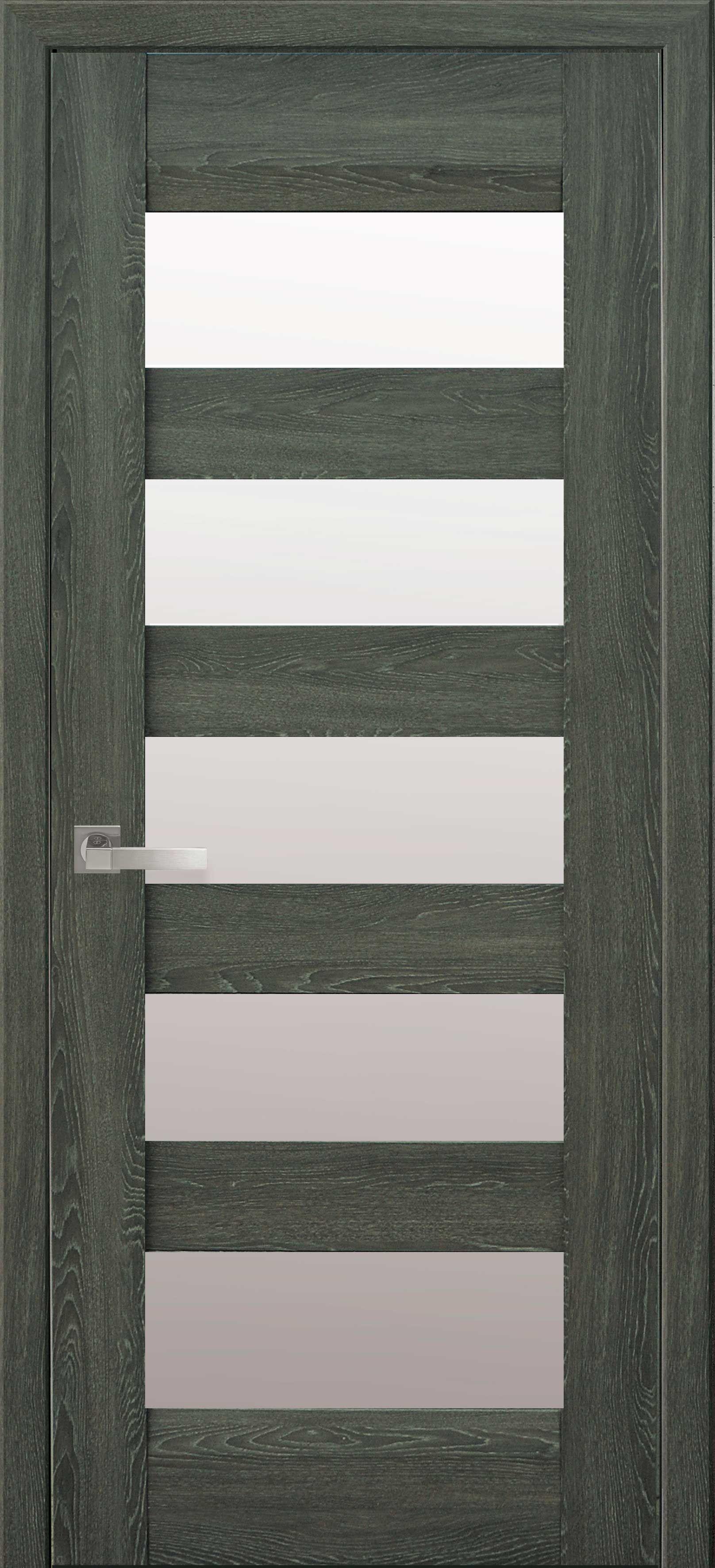 Межкомнатные двери Бронкс со стеклом сатин