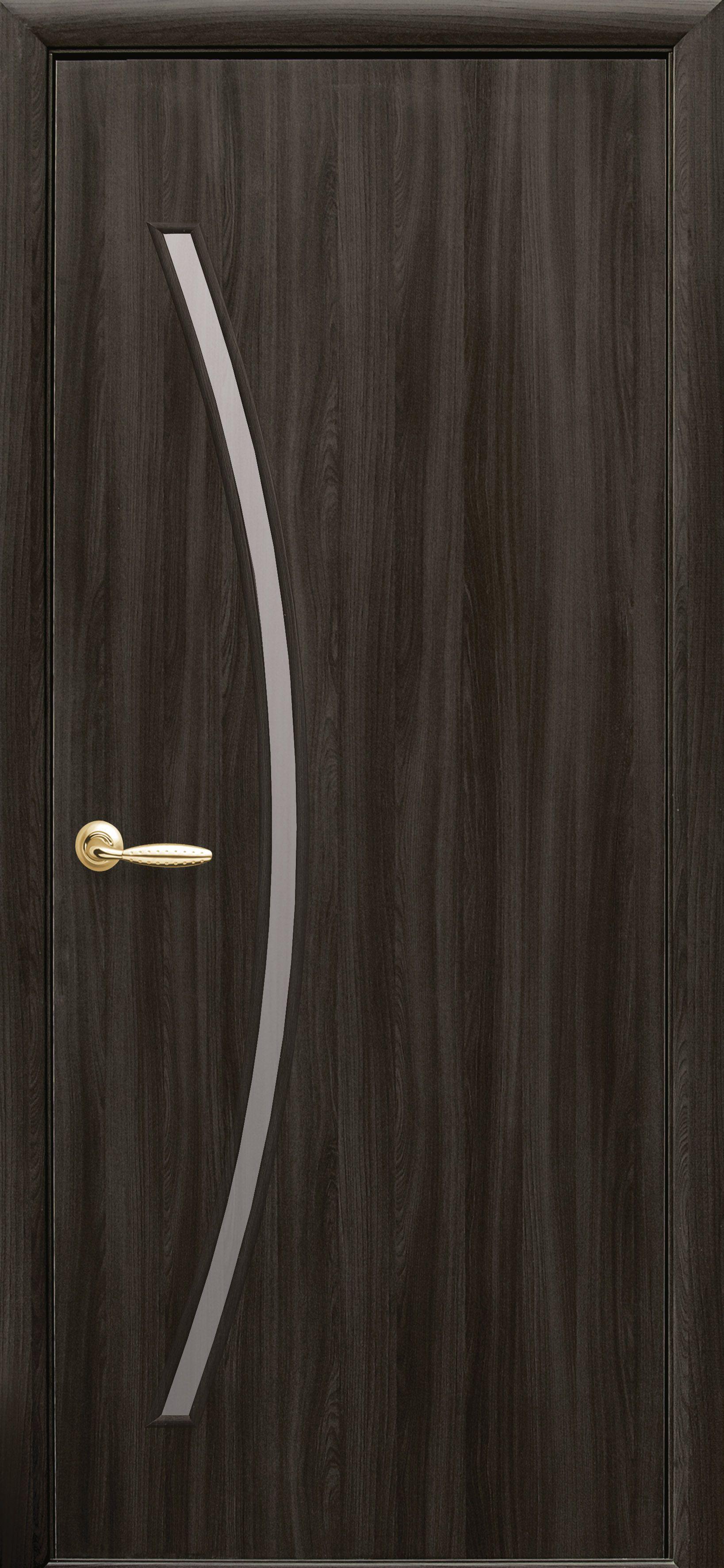 Межкомнатные двери Дива со стеклом сатин