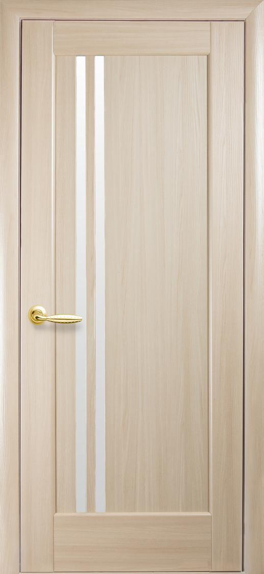 Межкомнатные двери Делла со стеклом сатин