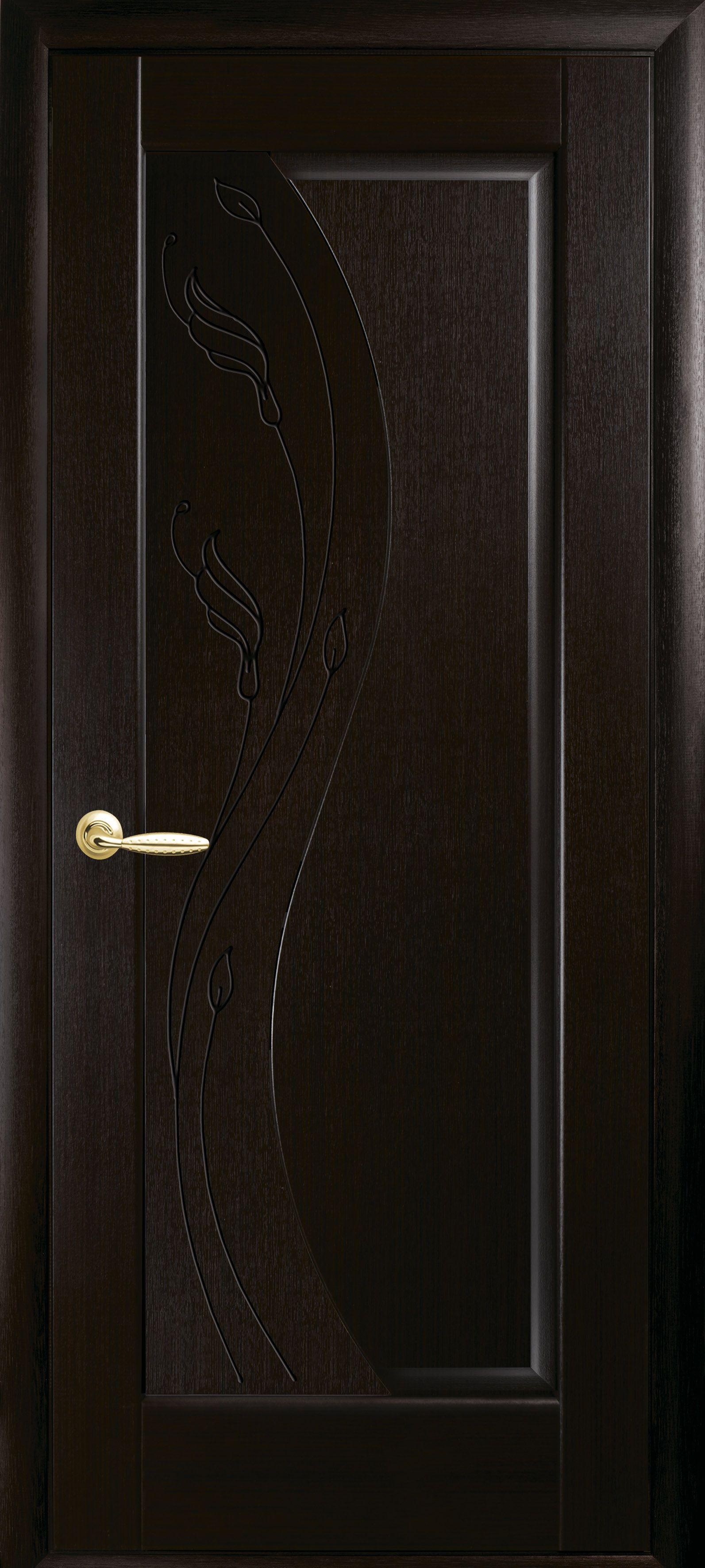 Межкомнатные двери Эскада глухое с гравировкой