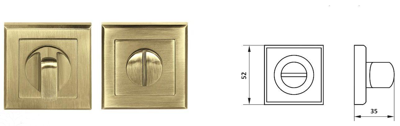 Фиксатор NS Z55-WC kvadro