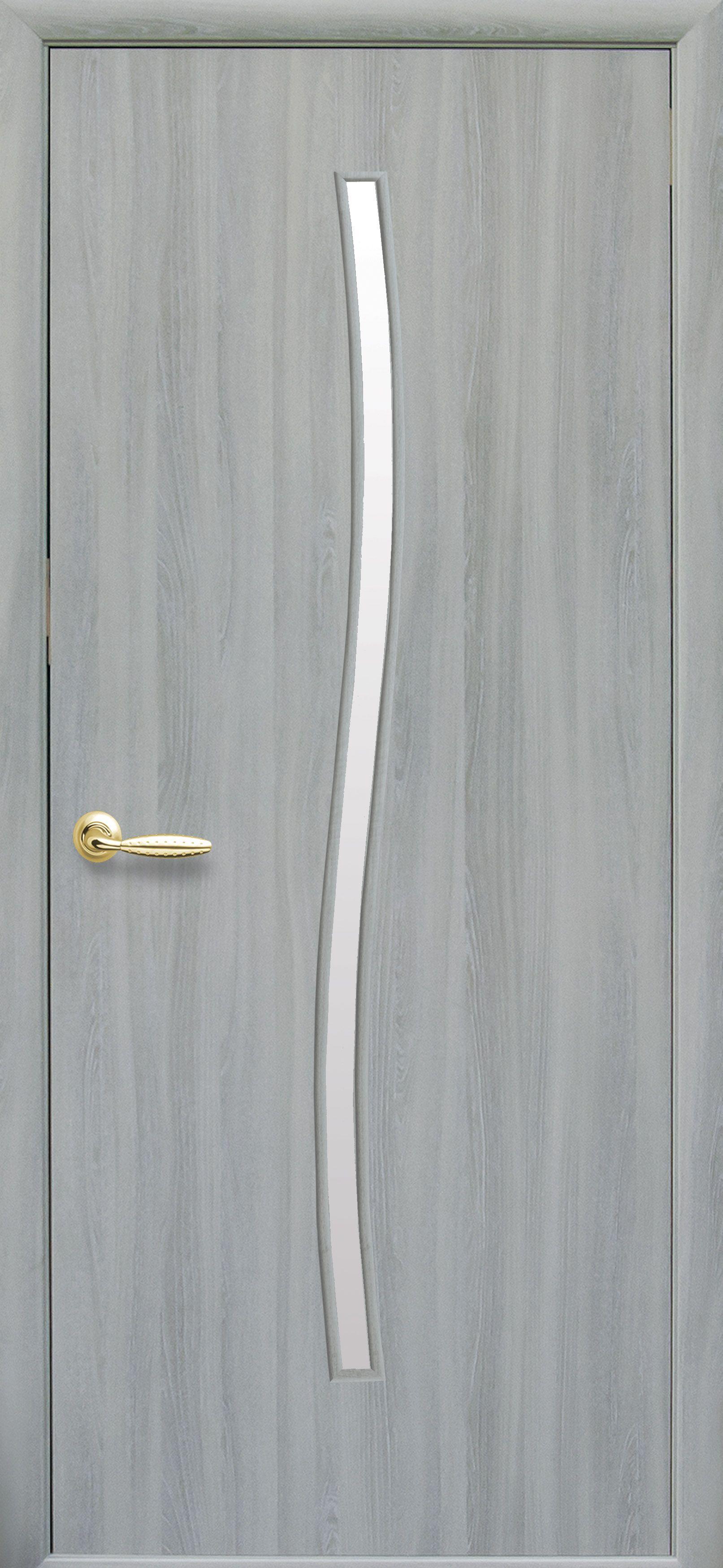 Межкомнатные двери Гармония со стеклом сатин