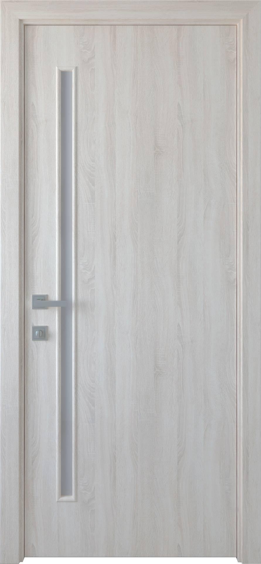 Межкомнатные двери Глория со стеклом сатин