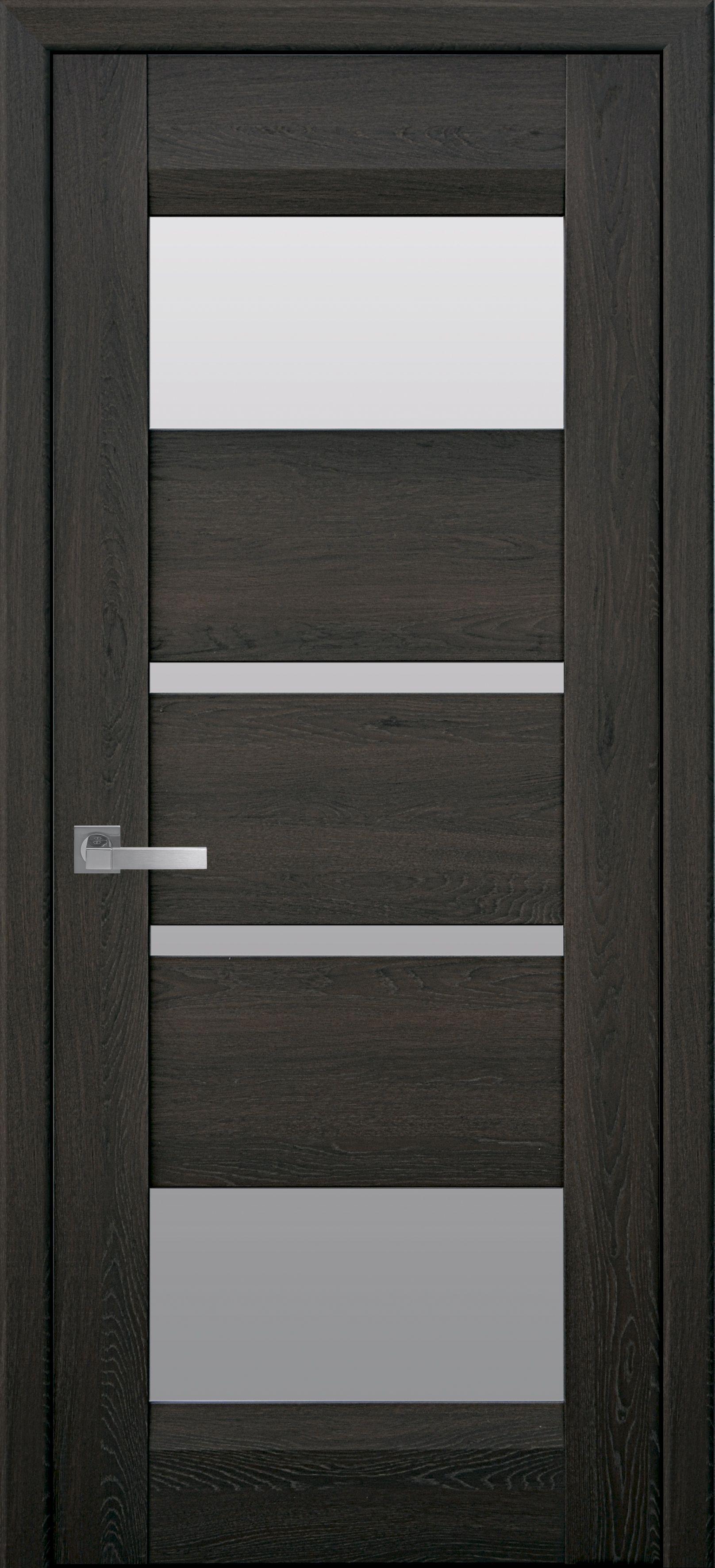 Межкомнатные двери Ибица со стеклом сатин