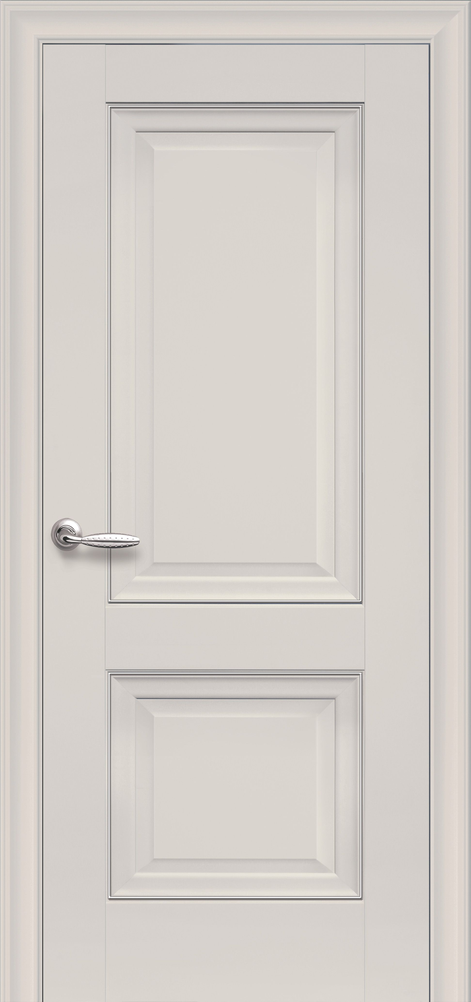 Межкомнатные двери Имидж Глухое с молдингом
