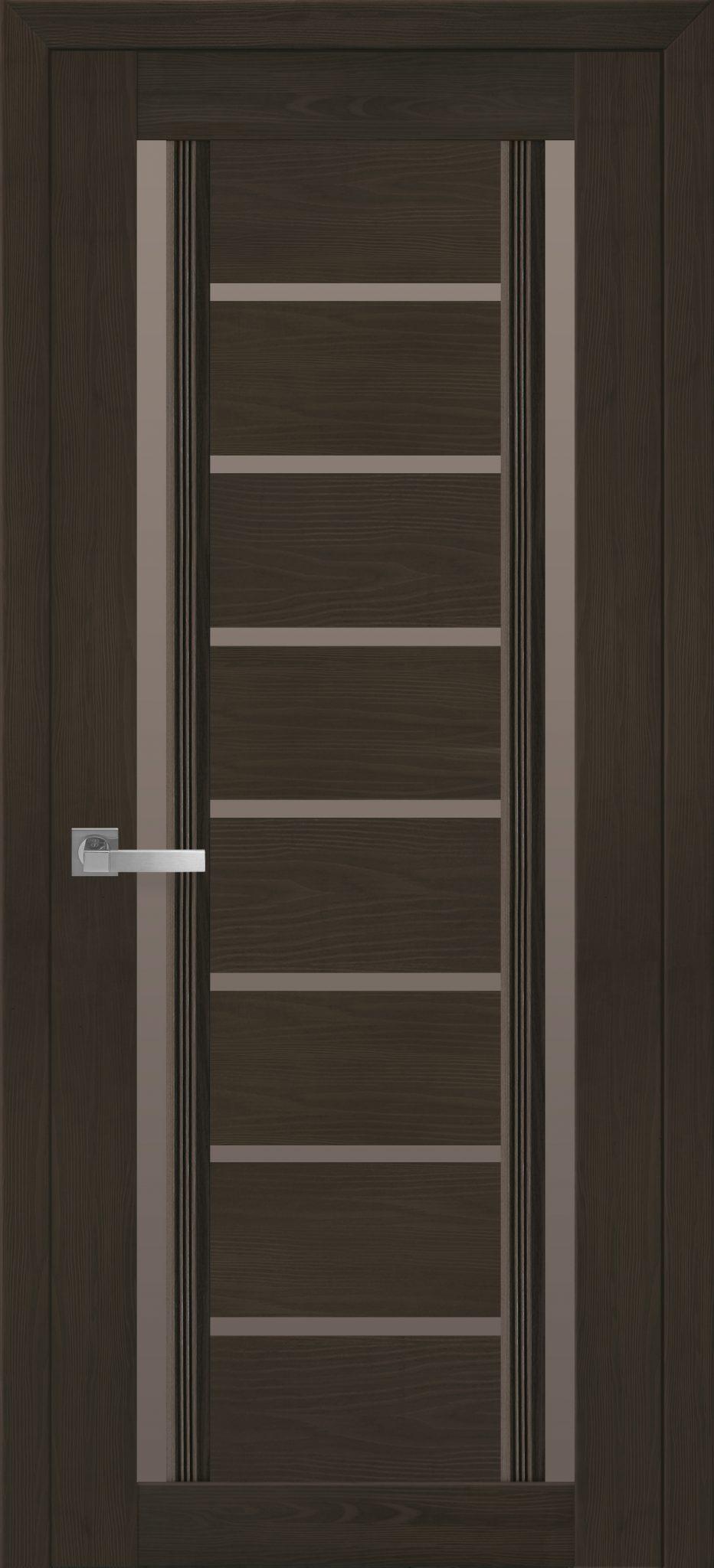Межкомнатные двери Флоренция С2 с бронзовым стеклом