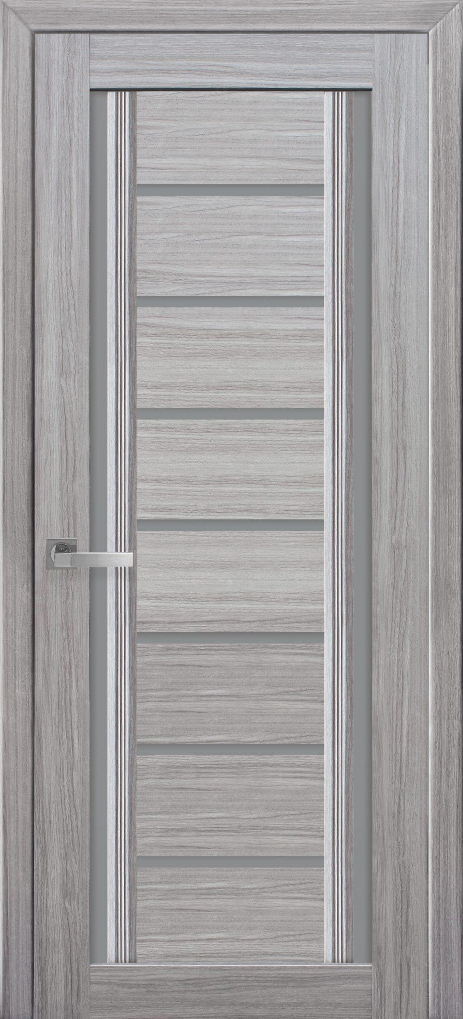 Межкомнатные двери Флоренция С2 с графитовым стеклом