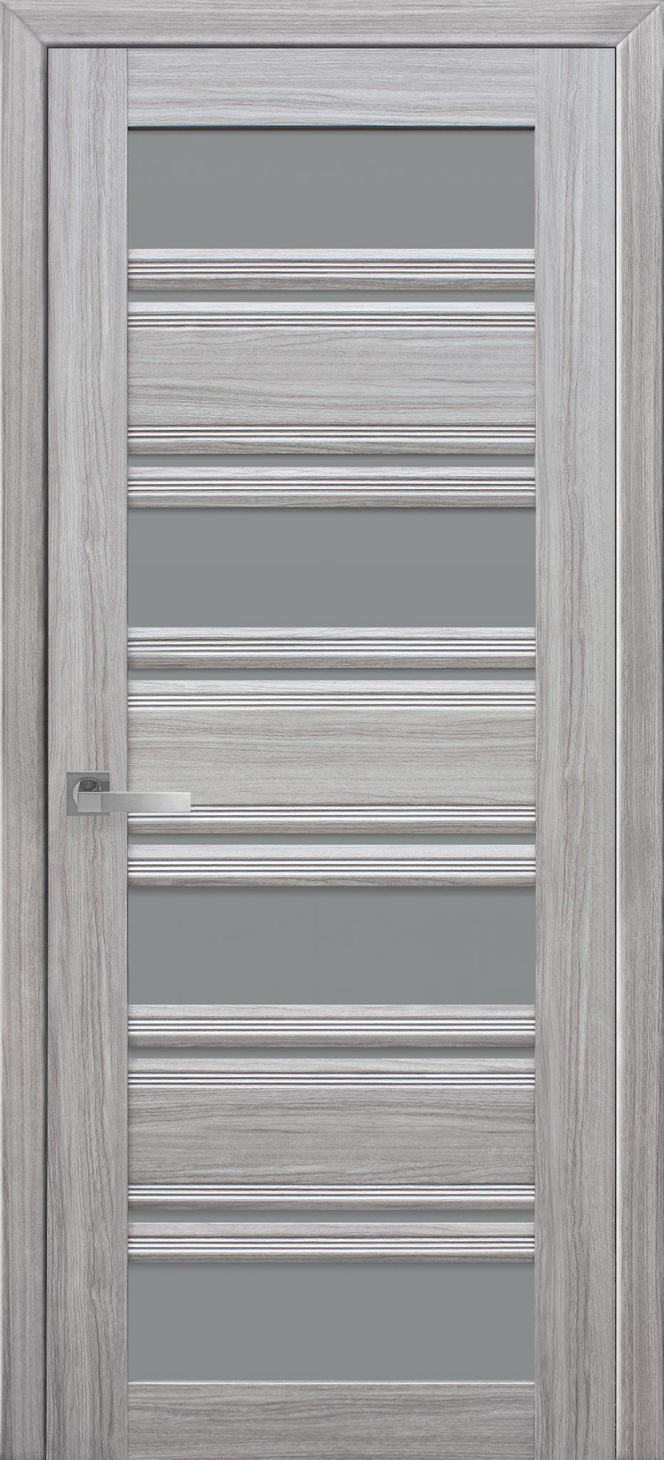 Межкомнатные двери Венеция С2 с графитовым стеклом