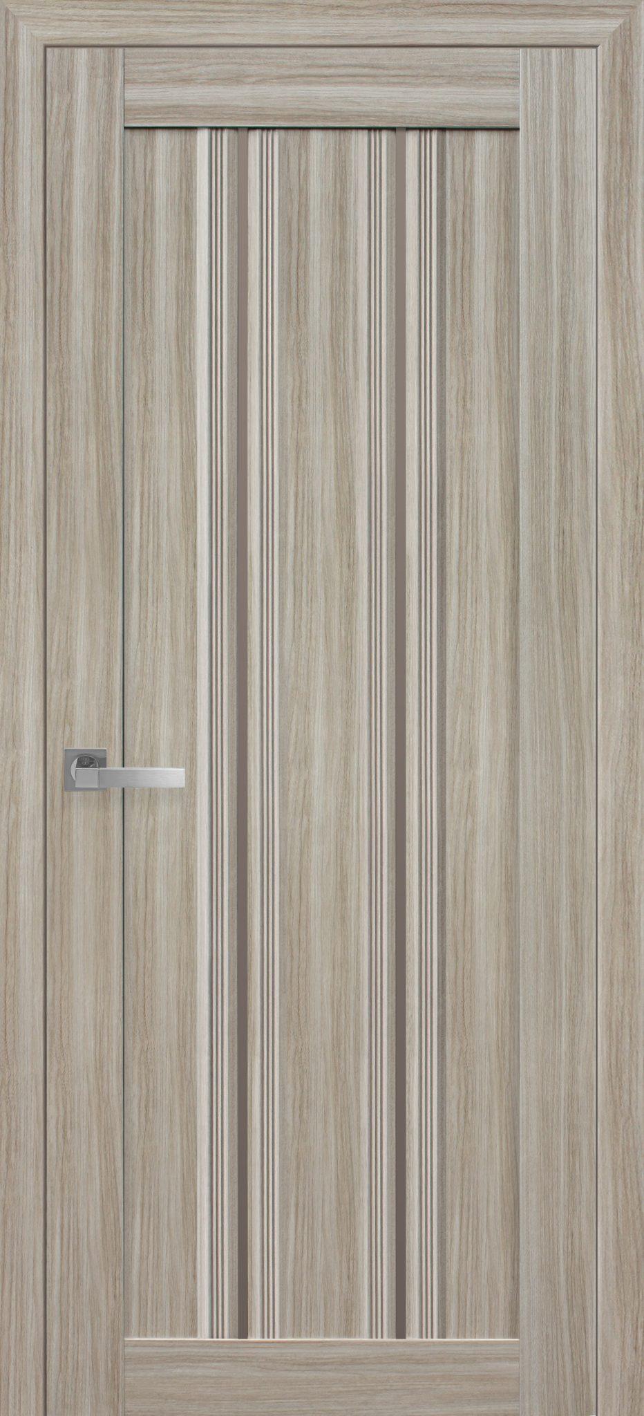 Межкомнатные двери Верона С1 с бронзовым стеклом