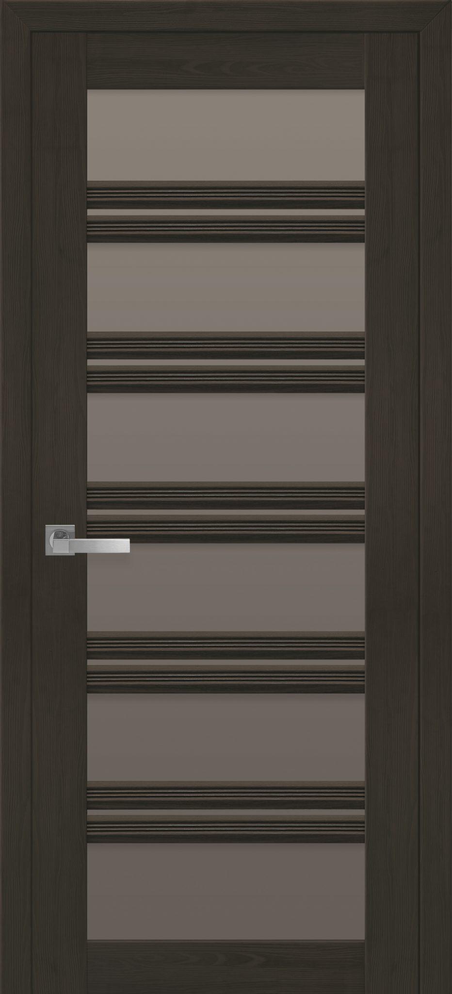 Межкомнатные двери Виченца С2 с бронзовым стеклом