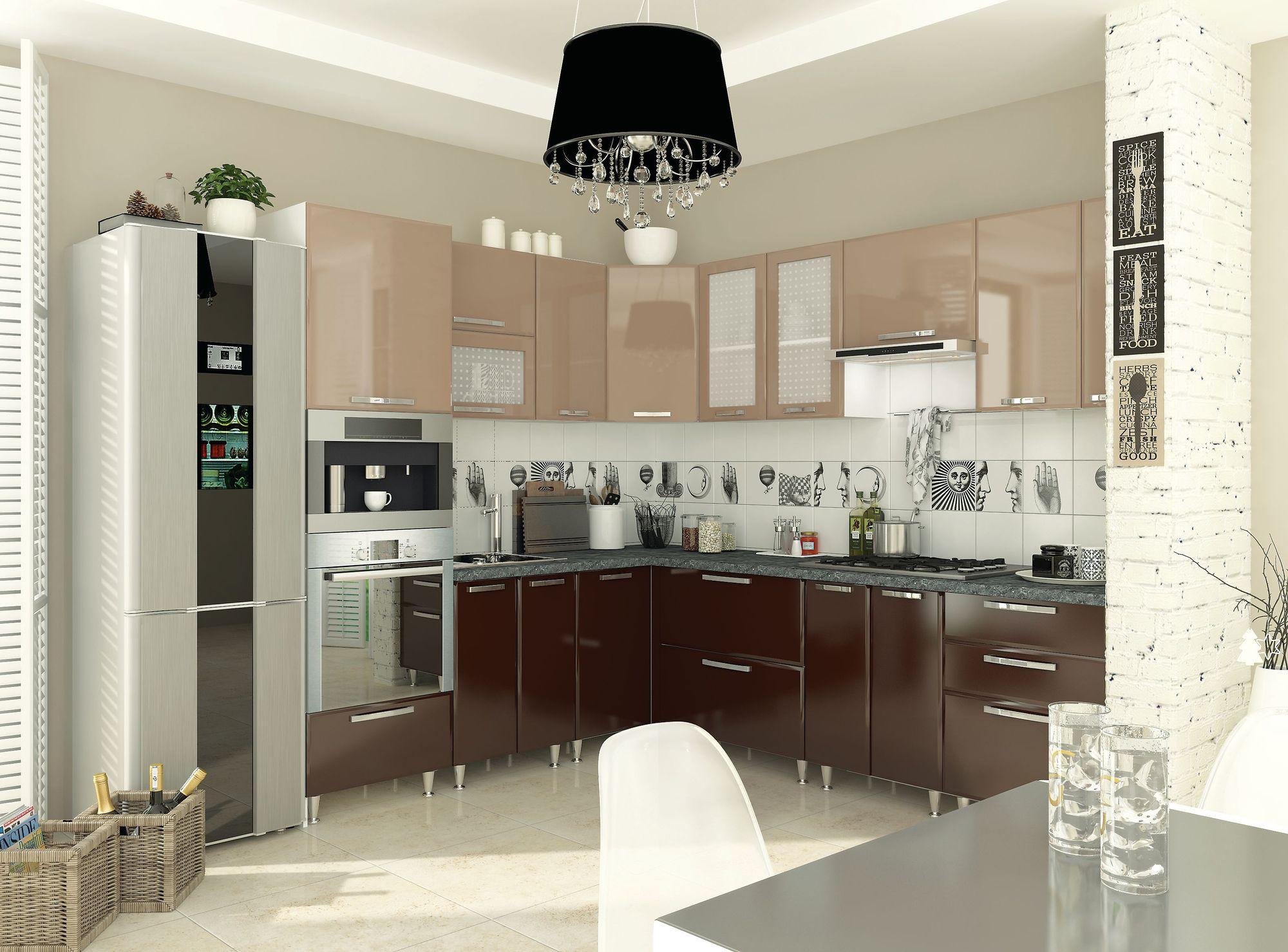 Кухня София — Престиж глянец