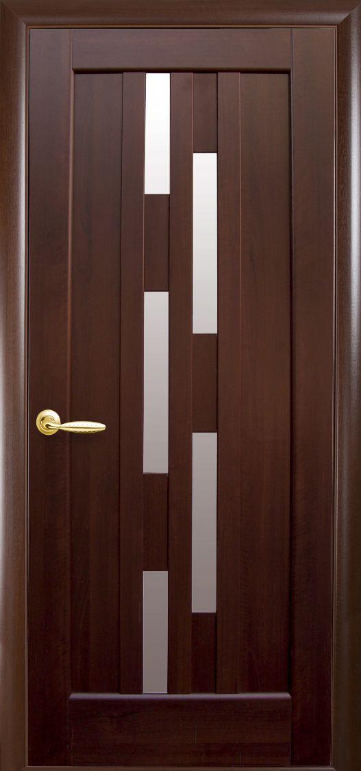Межкомнатные двери Лаура со стеклом сатин