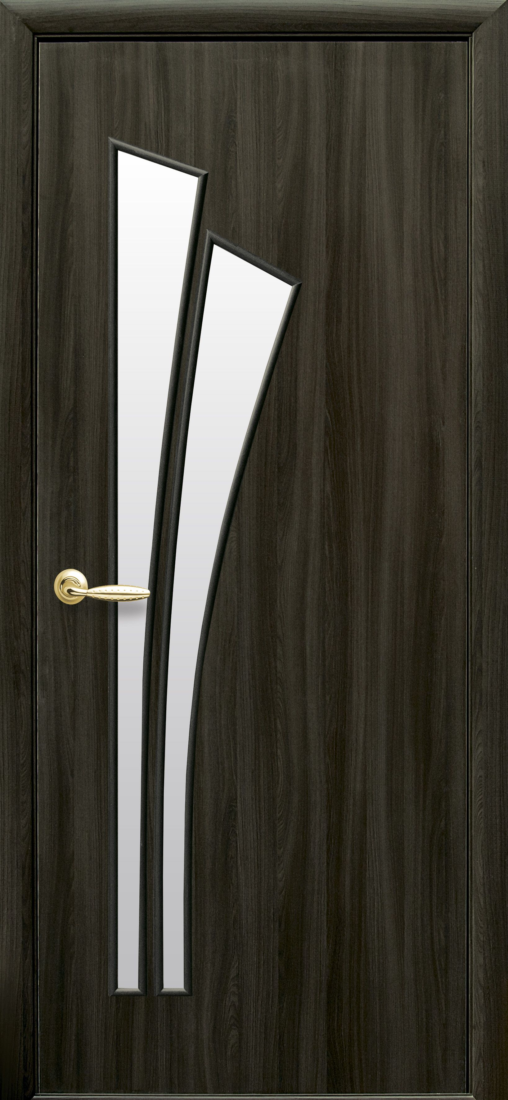 Межкомнатные двери Лилия со стеклом сатин