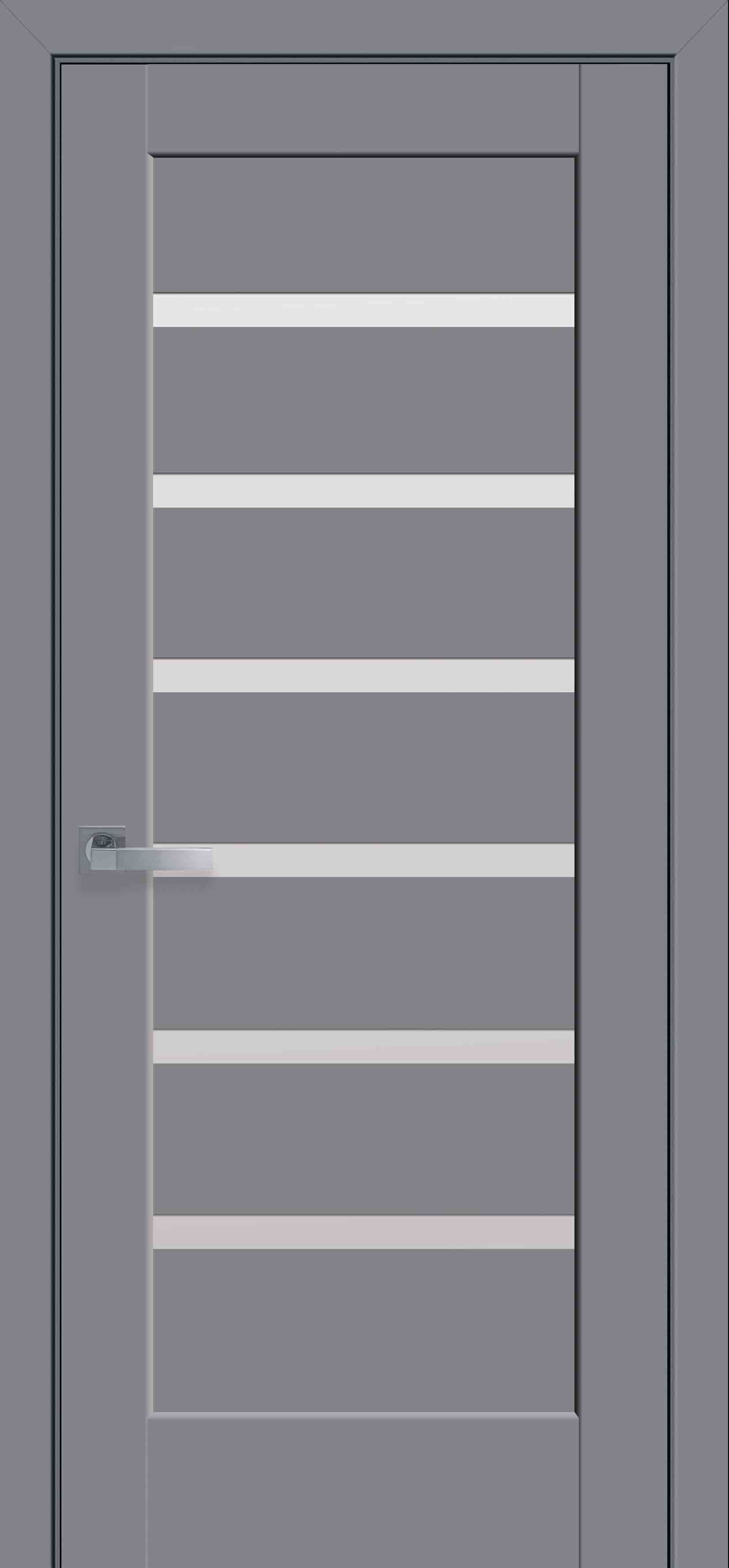 Межкомнатные двери Линнея со стеклом сатин