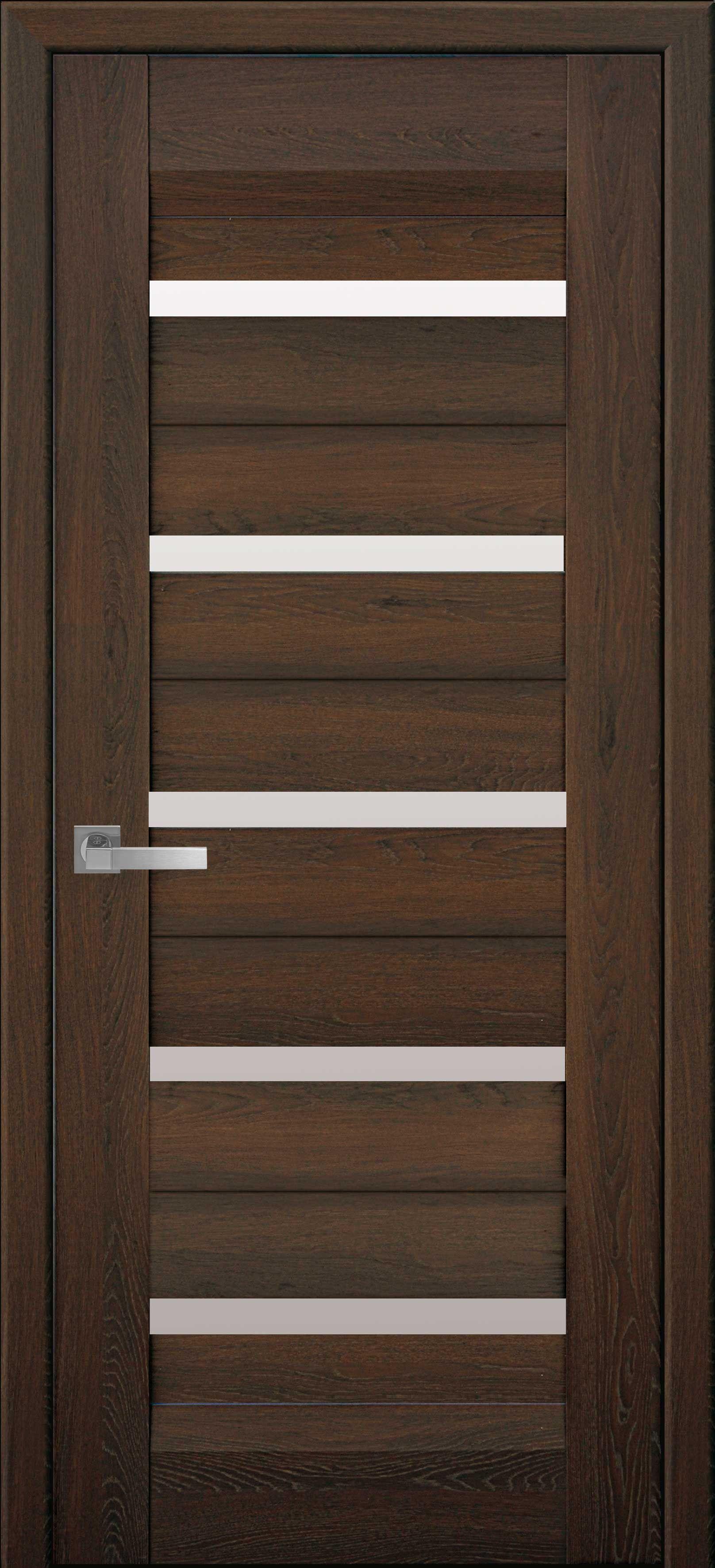 Межкомнатные двери Лира со стеклом сатин