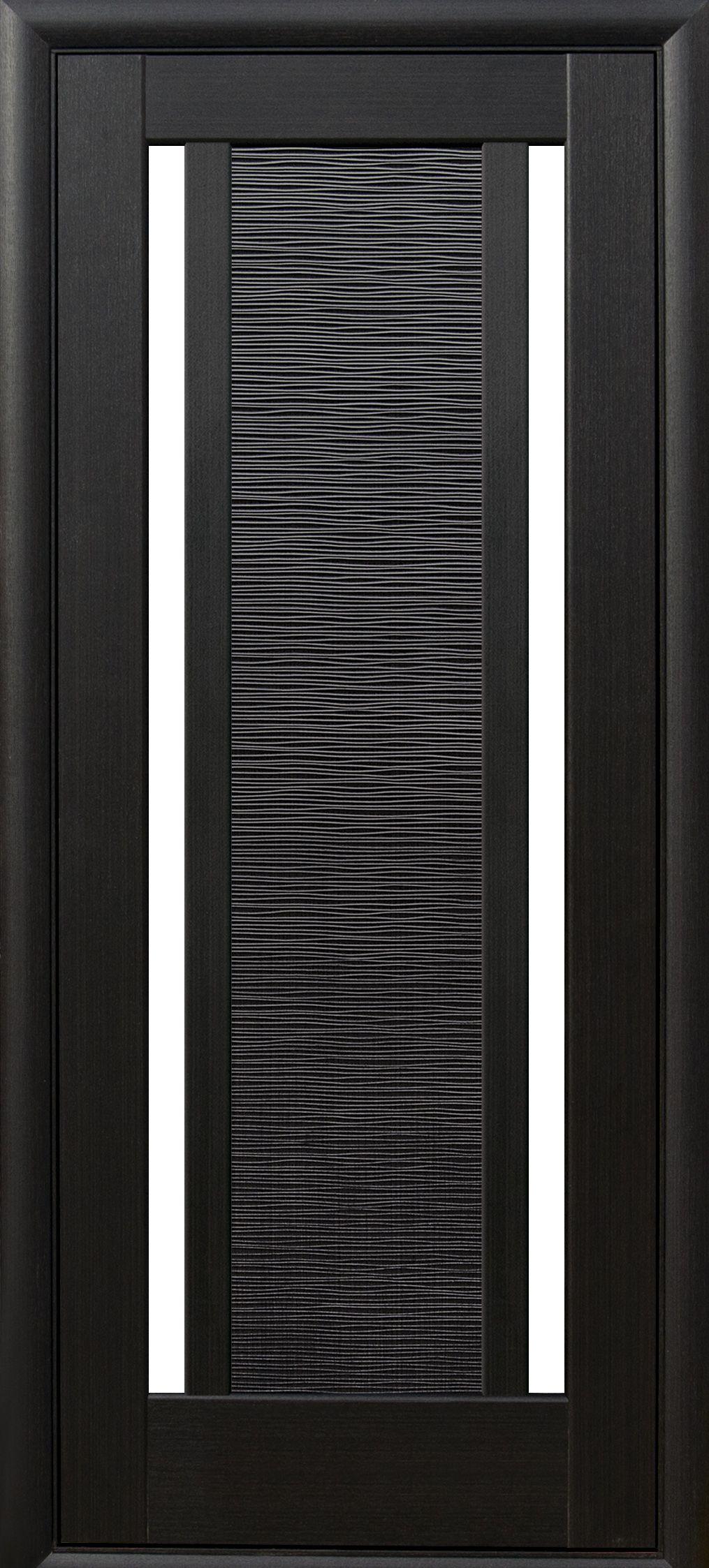 Межкомнатные двери Луиза со стеклом сатин