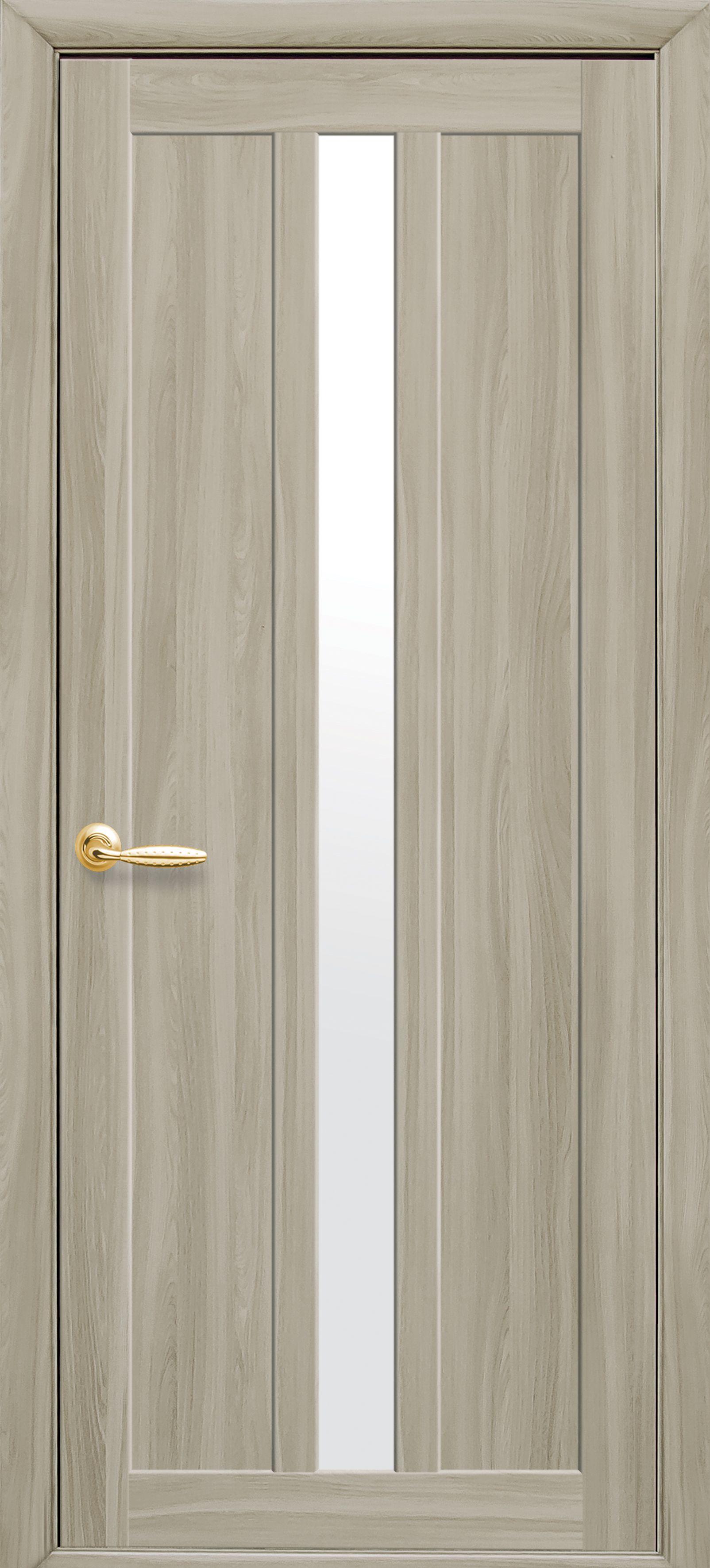Межкомнатные двери Марти со стеклом сатин