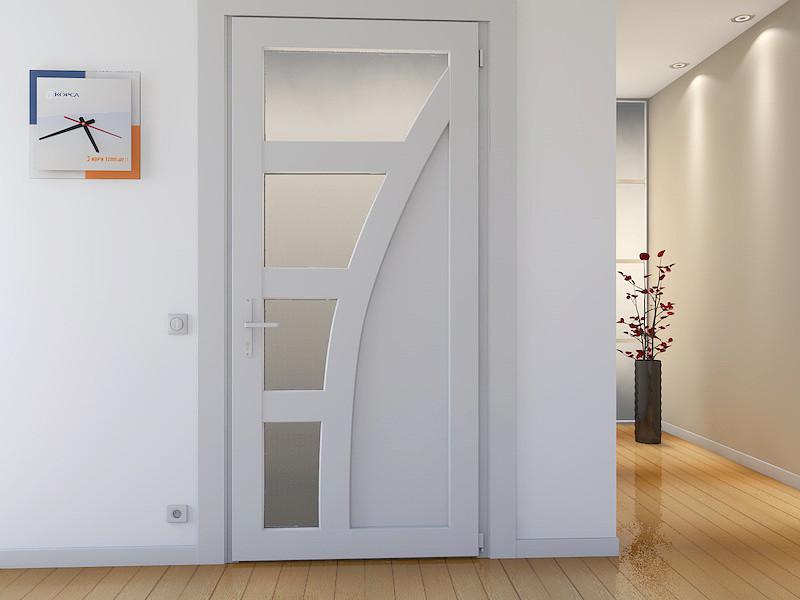 Металлопластиковые межкомнатные двери Rehau 60