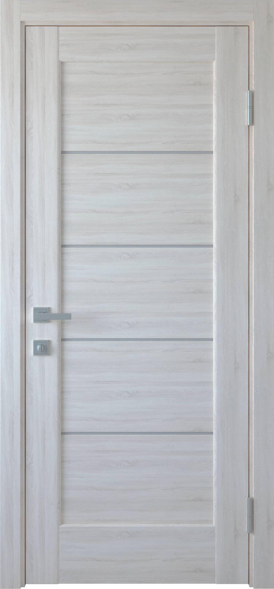Межкомнатные двери Мира со стеклом сатин