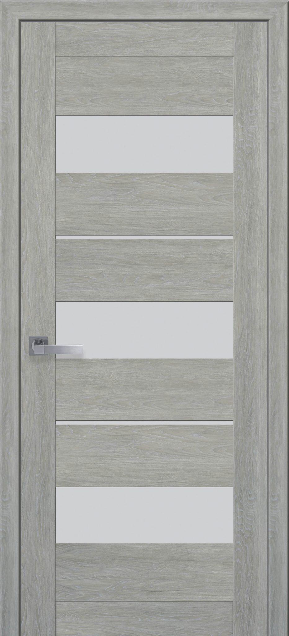 Межкомнатные двери Лилу со стеклом сатин