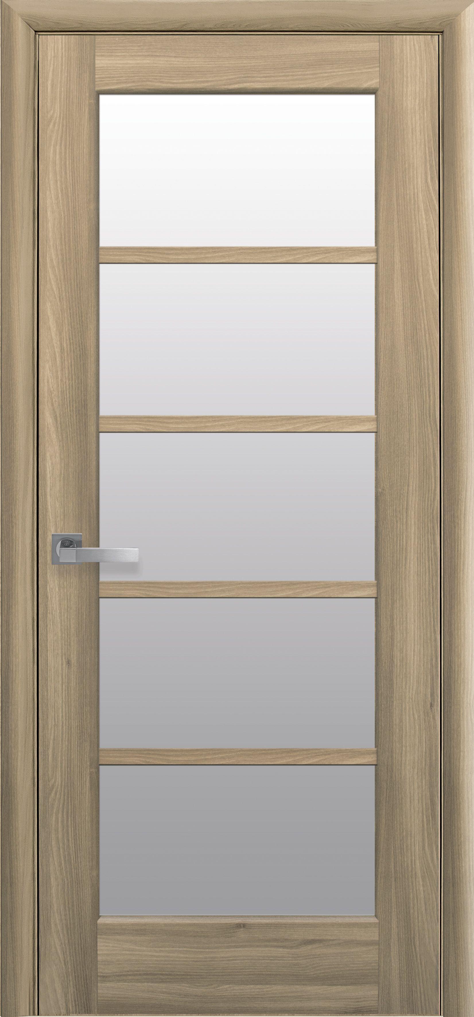 Межкомнатные двери Муза со стеклом сатин
