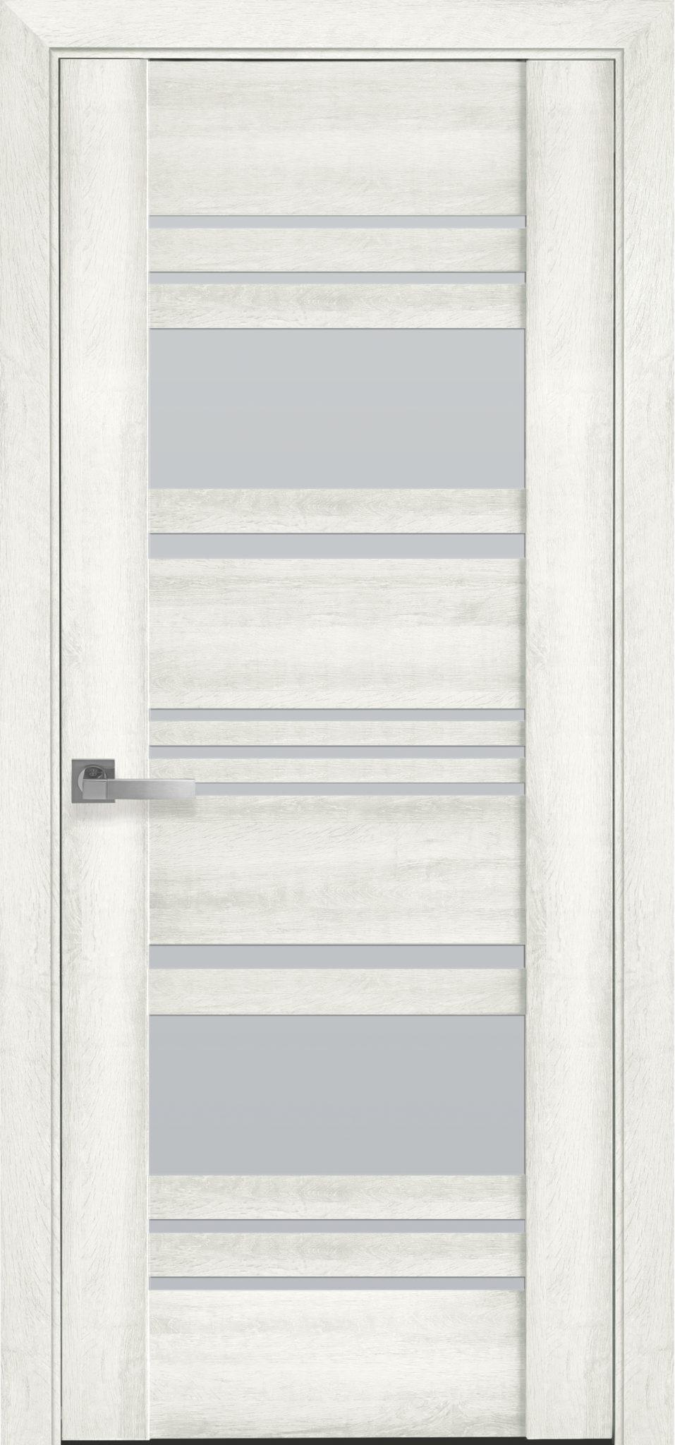 Межкомнатные двери Ницца со стеклом сатин