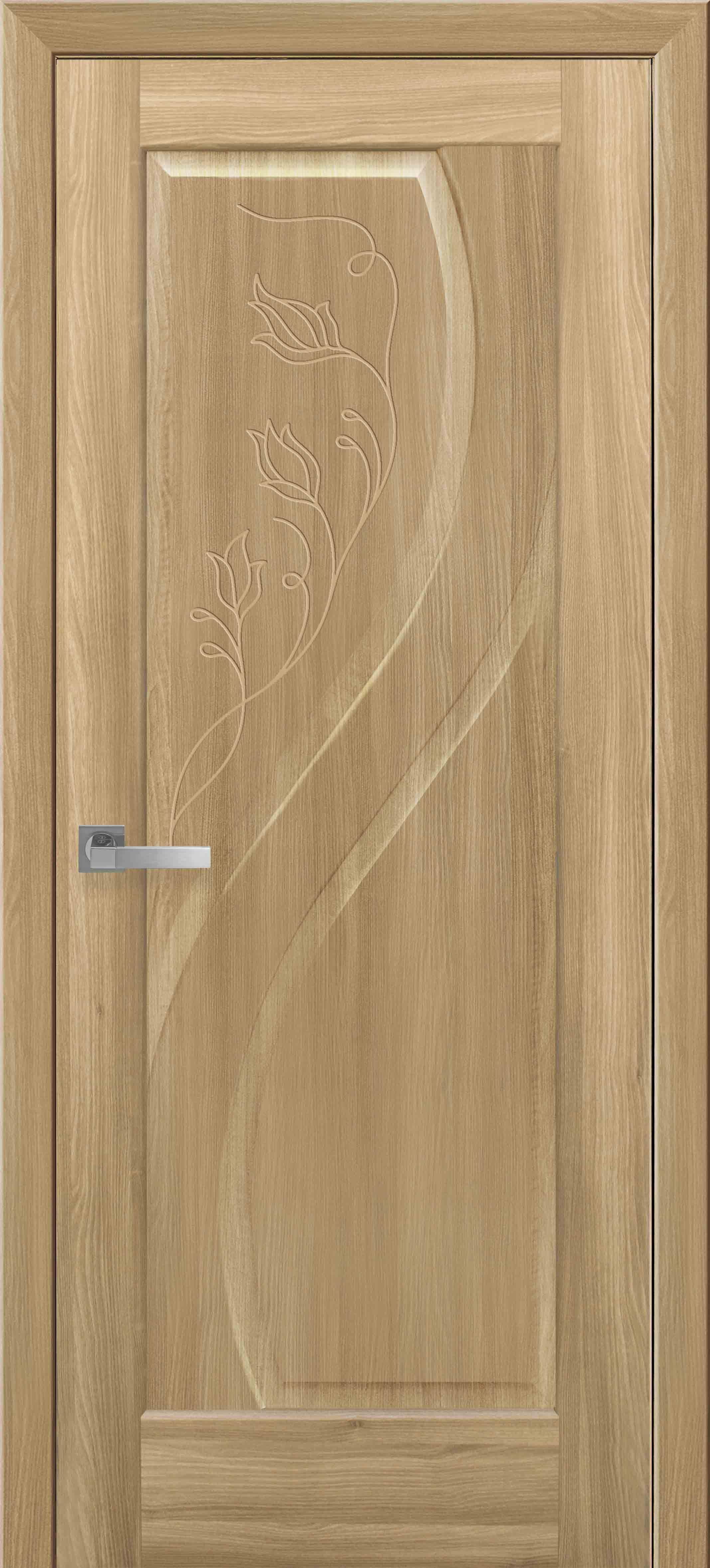 Межкомнатные двери Прима глухое с гравировкой