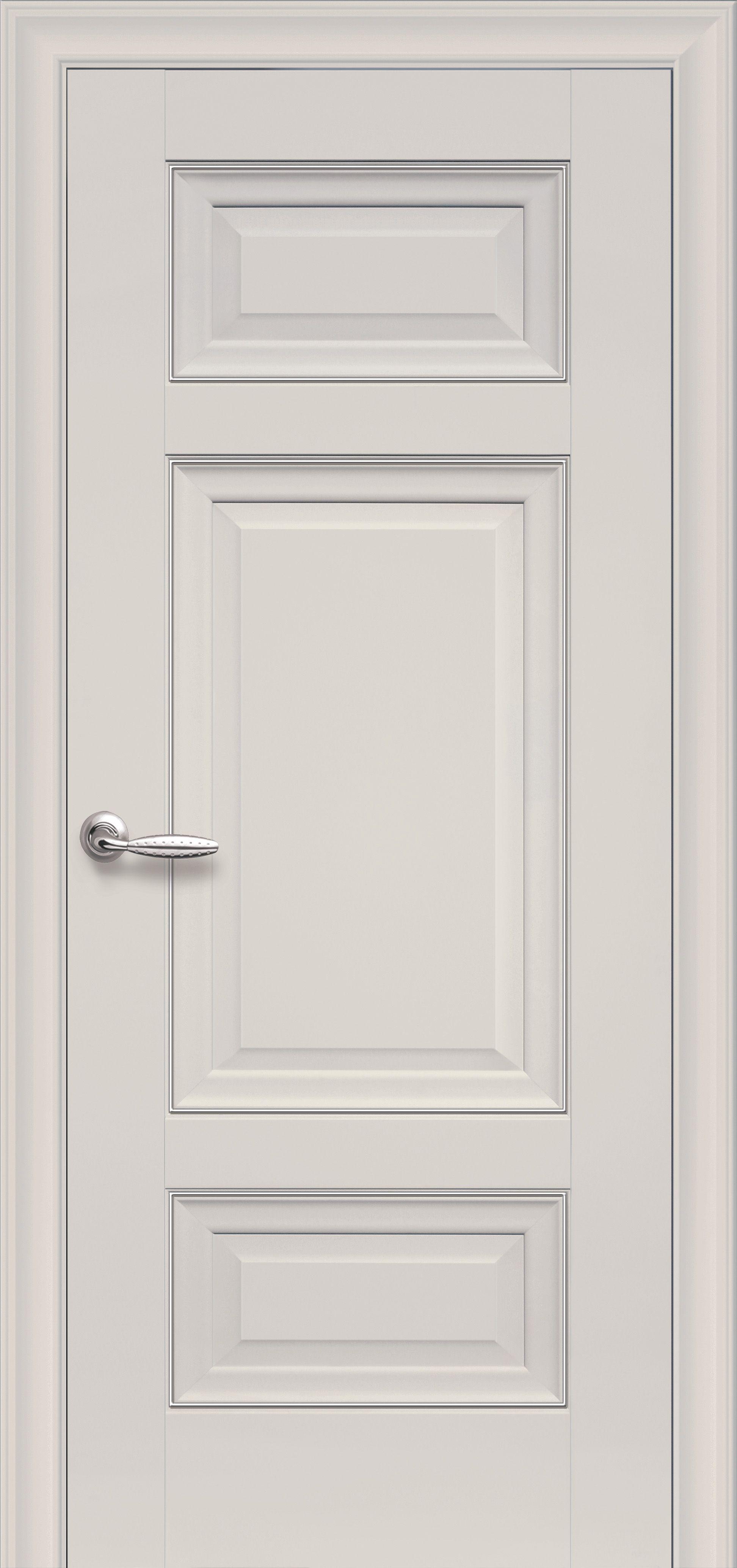 Межкомнатные двери Шарм Глухое с молдингом
