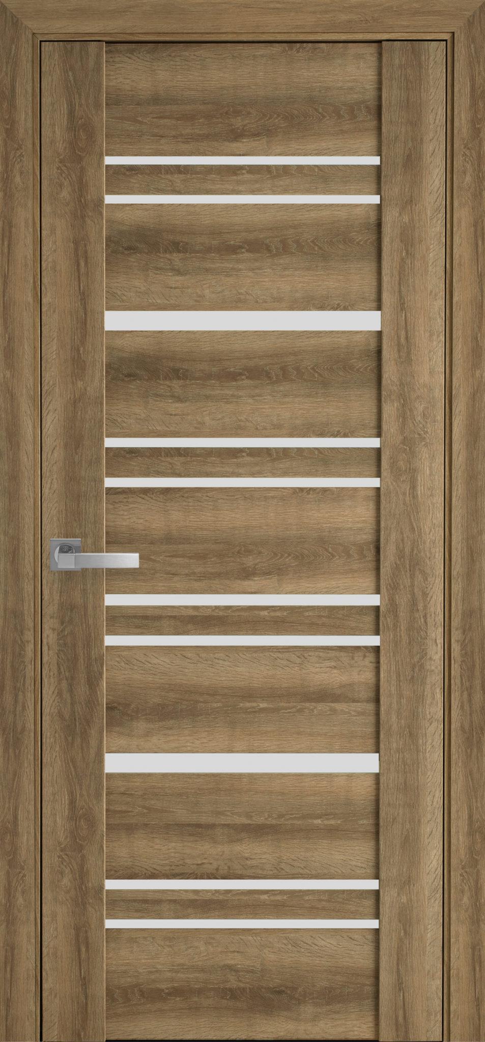 Межкомнатные двери Валенсия со стеклом сатин