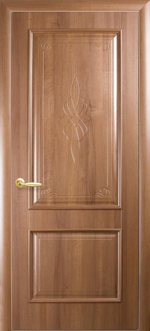 Межкомнатные двери Вилла глухое с гравировкой