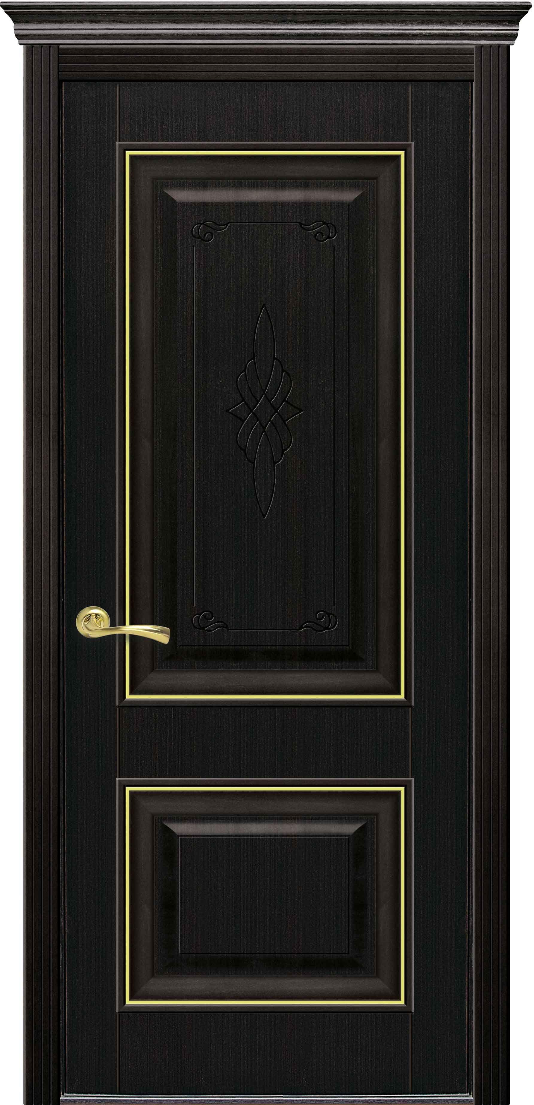 Межкомнатные двери Вилла Премиум глухое с гравировкой