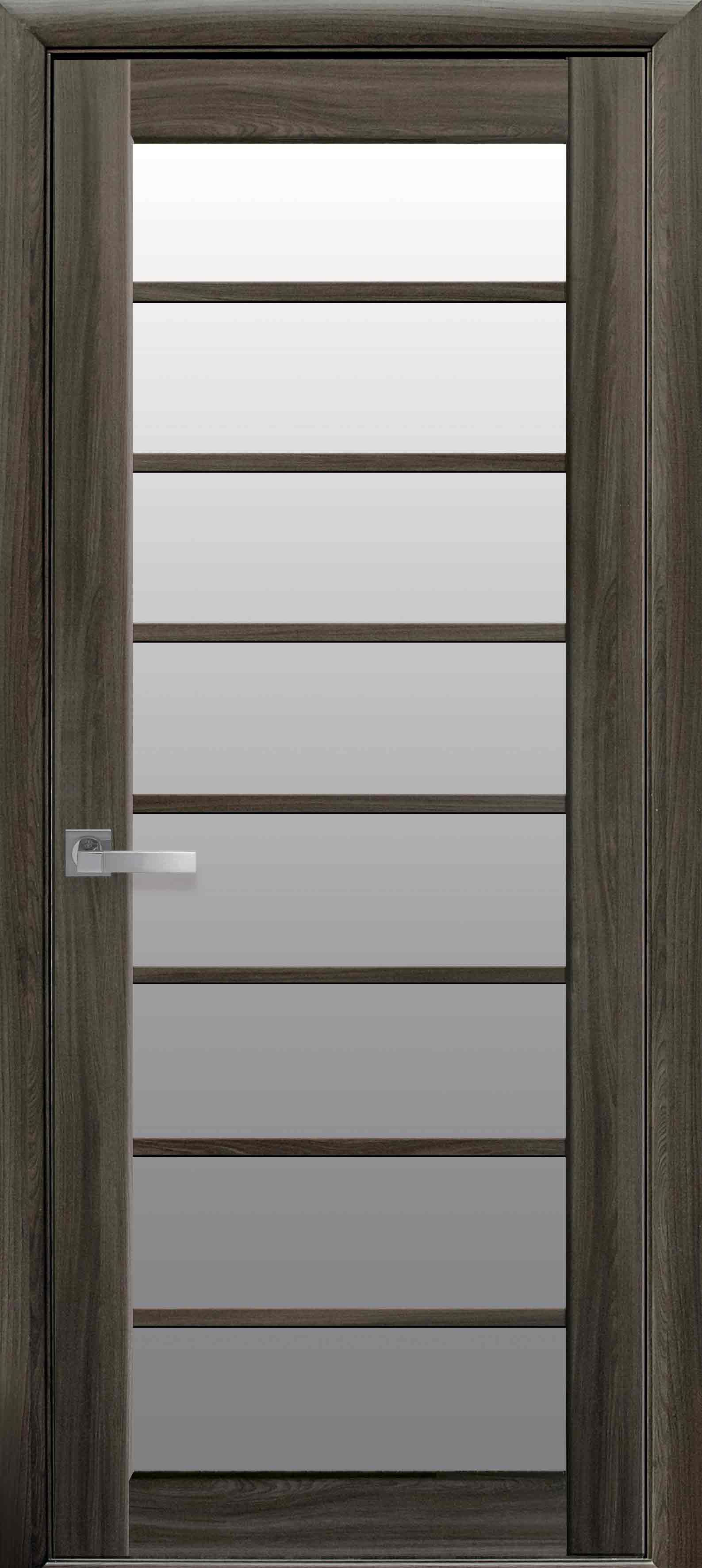 Межкомнатные двери Виола со стеклом сатин